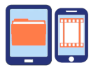 Mobile Apps: Backup iPhone and Android; view and edit cloud files on mobile devices
